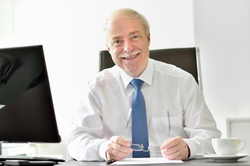 Portrait von Professor Friedhelm Schlösser, CEO von Schwank.