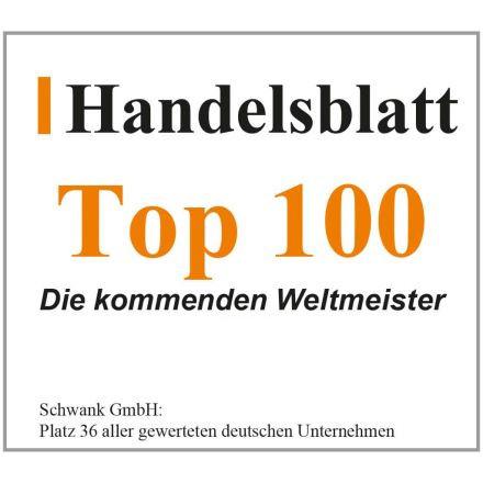 Schwank ist unter den Top 100 Unternehmen.