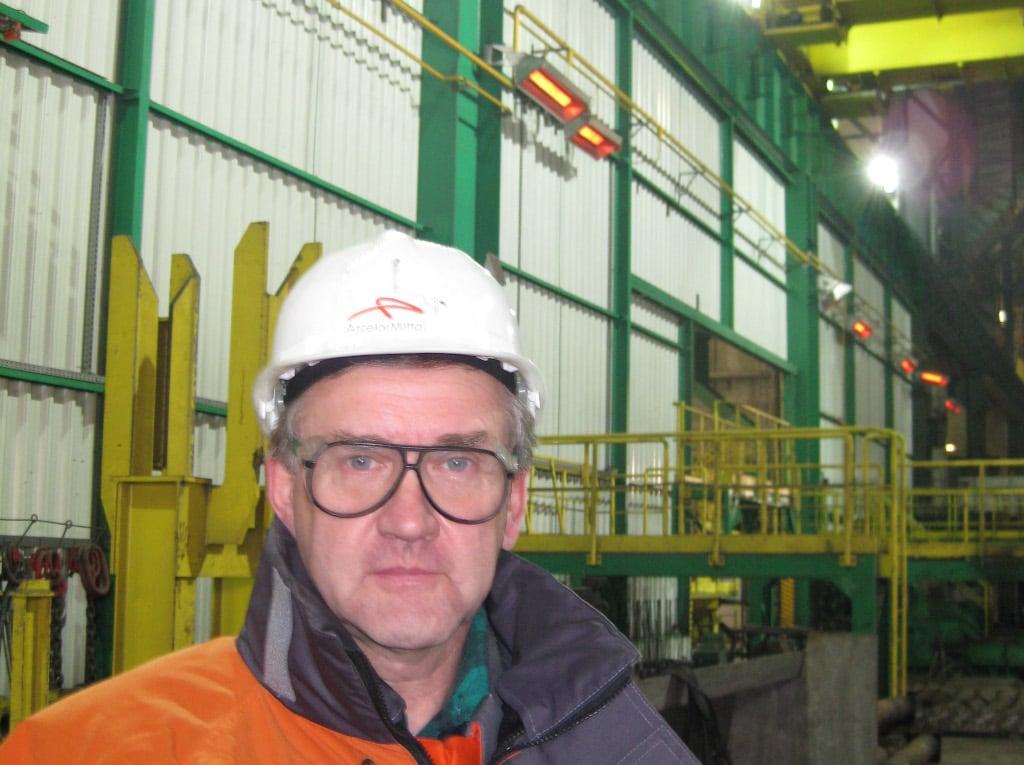 Ing. Andrzej Trzcina, Instandhaltungsleiter ArcelorMittal
