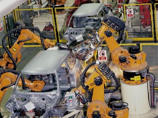 Produktion der Mini Cooper von BMW.