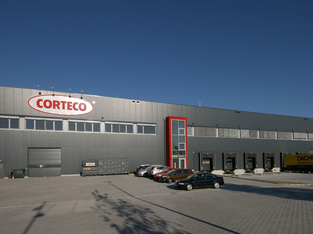 Eine Halle von CORTEGO.