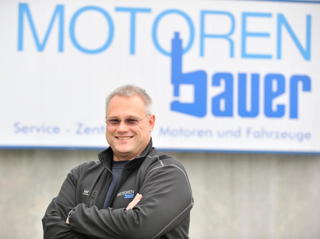 Florian Schweiger, Geschäftsführer Motoren Bauer, Weilheim