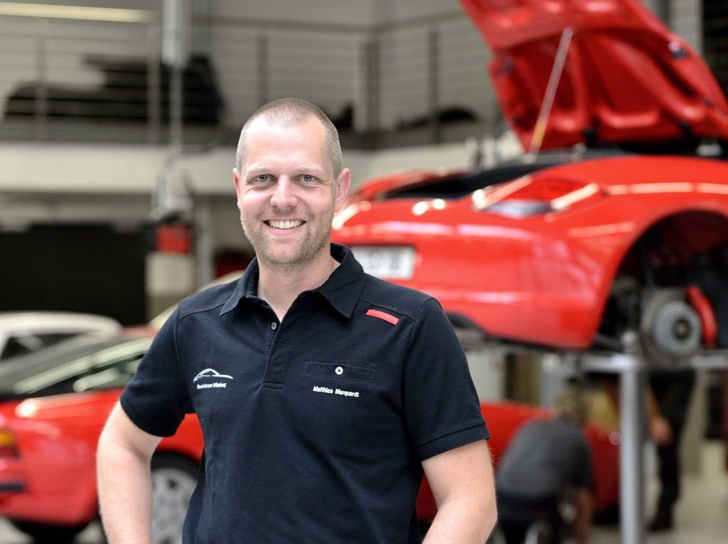 Matthias Marquardt, Leiter Aftersales, Porsche Zentrum Würzburg