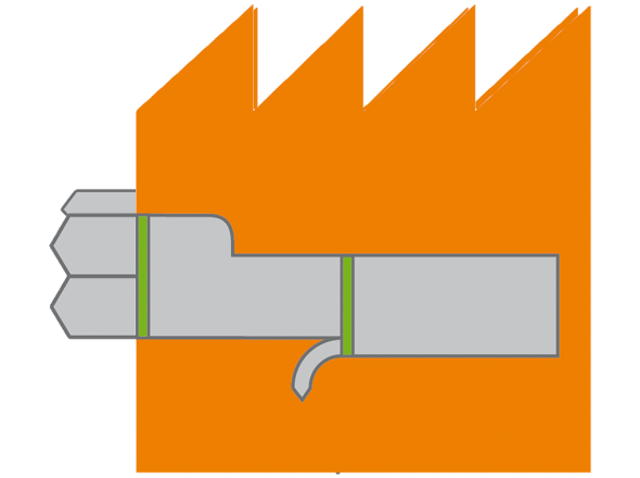 Dezentral Grafik