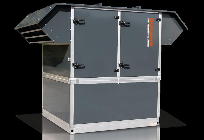 Produktbild RLT-Gerät aeroSchwank H-RI der Firma Schwank.