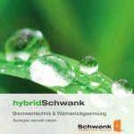 Titelbild der Broschüre von hybridSchwank Brennwerttechnik.