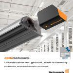 Titelbild der Broschüre des Schwank Dunkelstrahlers deltaSchwank.