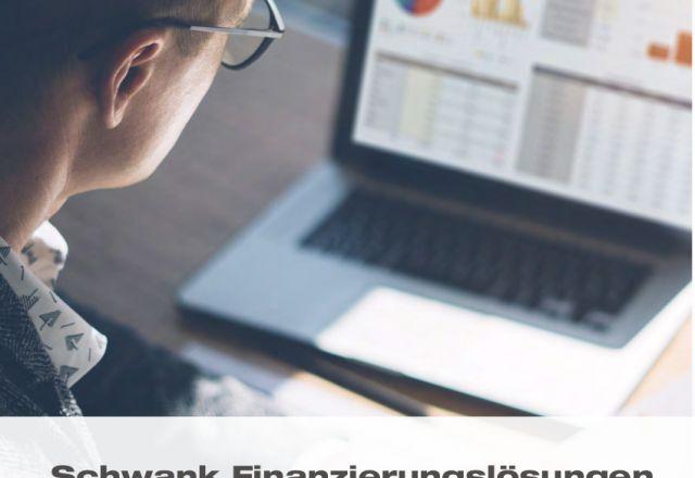 Titelbild der Schwank Finanzierungs-Broschüre.