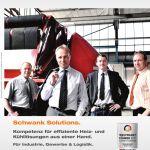 Titelbild der Broschüre Schwank Solutions.