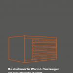 Titelbild der Broschüre SchwankAir Warmlufterzeuger.