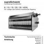 Titelbild der technische Anleitung einer supraSchwank.