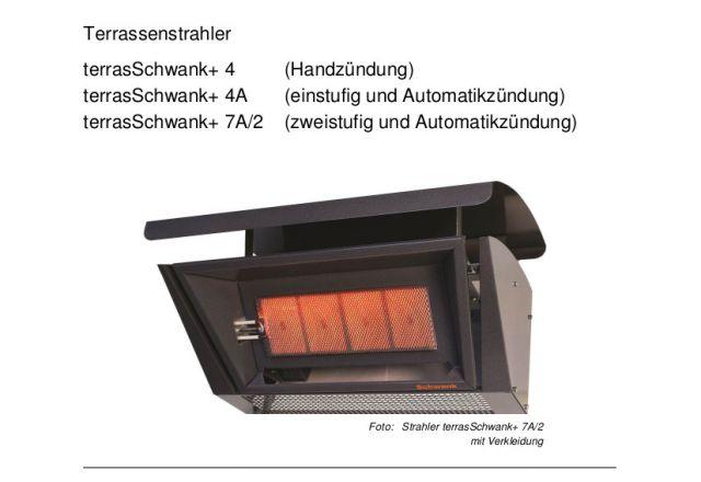 Titelbild der technische Anleitung einer terrasSchwank+.