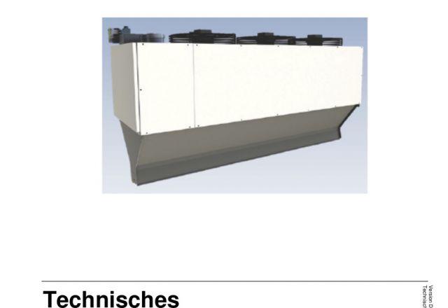 Titelbild der technischen Anleitung einer SchwankAir der Serie H von Schwank.
